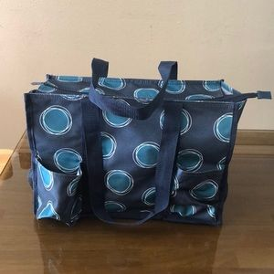 Thirty One multifunctional tote & small travel bag